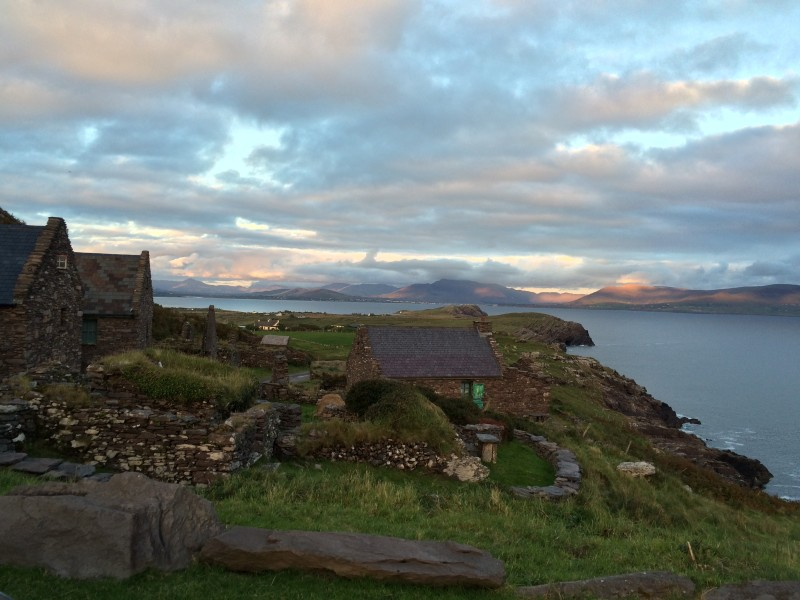1 The artist's village at Cill Rialaig,Co Kerry