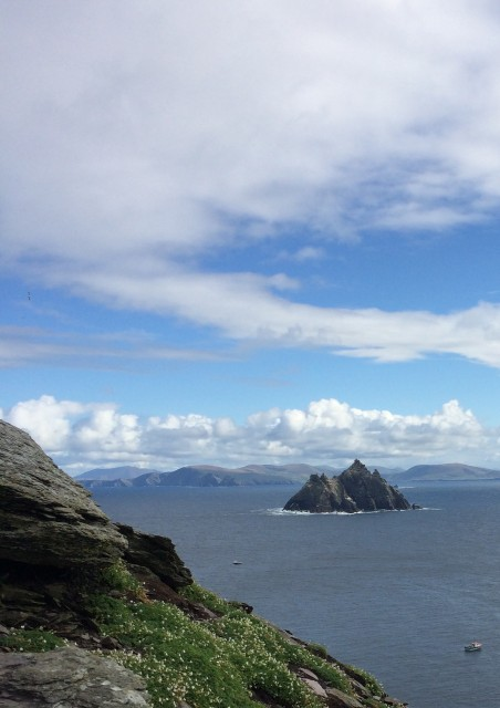 3 Little skellig viewed from Skellig Michael
